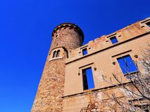 Castle in Colonia Guell Stock Photography