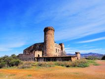 Castle in Colonia Guell Stock Images