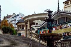 Castle Colonnade, Karlovy Vary, Czech Republic Royalty Free Stock Photos