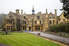 Castle Combe Manor Hotel Stock Photo