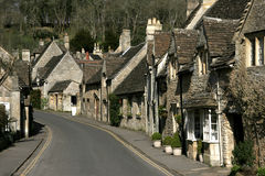 Castle Combe village Stock Images