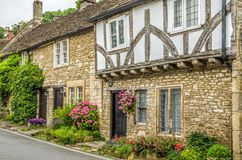 Castle Combe Village Royalty Free Stock Photo