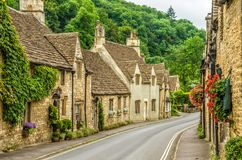 Castle Combe Village Royalty Free Stock Image