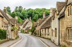 Castle Combe Village, Wiltshire, England Stock Image