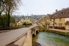 Castle Combe Village Stock Photography