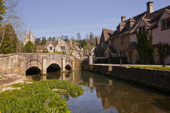 Castle Combe, Wiltshire, England, UK. Royalty Free Stock Photography