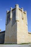 Castle Communards Torrelobaton in Valladolid, Spain Stock Photos