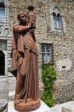 Castle of Compiano. Emilia-Romagna. Italy. Stock Photo