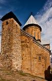 Castle complex Ananuri Stock Photo