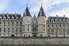 Castle Conciergerie - Παρίσι, Γαλλία Στοκ εικόνα με δικαίωμα ελεύθερης χρήσης