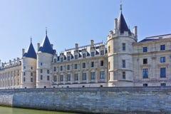 Castle Conciergerie - προηγούμενο βασιλικό παλάτι, Παρίσι Στοκ Φωτογραφίες