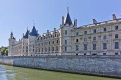 Castle Conciergerie - προηγούμενο βασιλικό παλάτι, Παρίσι Στοκ Εικόνα