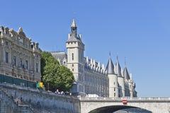 Castle Conciergerie - former royal palace, Paris Royalty Free Stock Images