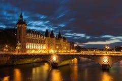Castle Conciergerie in Paris Stock Images