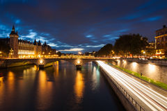 Castle Conciergerie in Paris Royalty Free Stock Image
