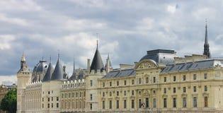 Castle Conciergerie in Paris Stock Photo