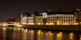 Castle Conciergerie, Paris, France Stock Photos