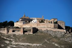 Castle and convent, Estepa, Spain. Royalty Free Stock Photo