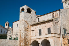 Castle of Conversano. Puglia. Italy. Royalty Free Stock Images