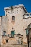 Castle of Conversano. Puglia. Italy. Stock Image