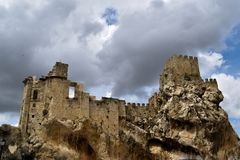 Castle from Cordoba spain royalty free stock images