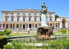 Castle in Corfu, Greece Royalty Free Stock Photo