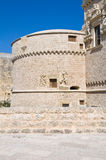 Castle of Corigliano d'Otranto. Puglia. Italy. Stock Photo
