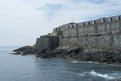 Castle Cornet on the island of Guernsey Stock Image
