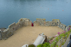 Castle Cornet on the island of Guernsey Royalty Free Stock Photography