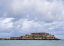 Castle cornet. In Saint Peter Port ,  Guernsey Stock Photos