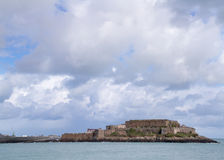 Castle cornet. In Saint Peter Port ,  Guernsey Royalty Free Stock Photography
