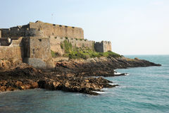 Castle Cornet, St peter Port. Guernsey Stock Photography