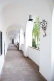 Castle corridor Stock Photo