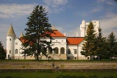 Castle of Count Dunjdjerski stock image