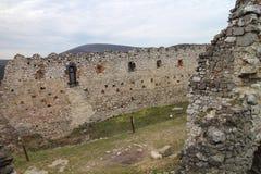 Castle of Countess Elisabeth Báthory, Čachtice. Slovakia royalty free stock photography