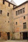 Castle of the Counts. Carcassonne. France Royalty Free Stock Image