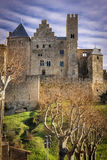 Castle of the Counts. Carcassonne. France Stock Image