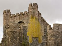 Castle of the Counts dated Royalty Free Stock Photo