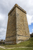 Castle of the Counts of lemos in Monforte de Lemos Royalty Free Stock Image