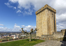 Castle of the Counts of lemos in Monforte de Lemos Royalty Free Stock Photos