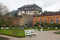 Castle of the Counts and Princes of Nassau-Weilburg Stock Image