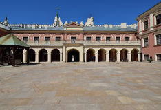 Castle Courtyard of Lublin, Poland. Stock Image
