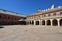 Castle Courtyard of Lublin, Poland. Royalty Free Stock Photos