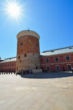 Castle Courtyard of Lublin, Poland. Royalty Free Stock Image