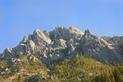 Castle Crags Stock Photography