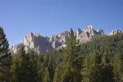 Castle Crags Stock Photo