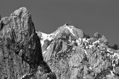 Castle Crags, Dunsmuir Royalty Free Stock Images