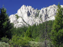 Castle Crags Royalty Free Stock Photography