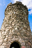 Castle Craig at Hubbard Park. Old tower at Connecticut's Hubbard Park Stock Photo