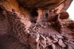 Castle Creek Indian Ruins Utah. Indian Ruins near halls crossing Utah stock photos